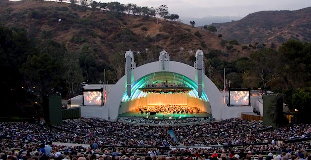 Hollywood Bowl, California